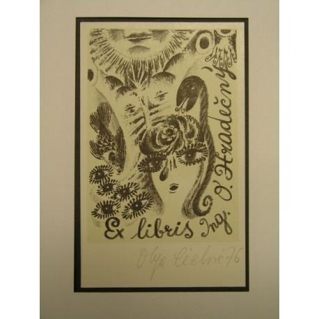 Grafika - Litografie - Olga Čechová (1925 - 2010)