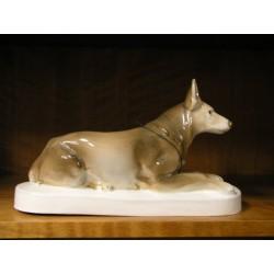 Vlčák - porcelán
