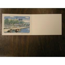 Milena Dvořáková (20. 11. 1944 - 1992) - barevná litografie